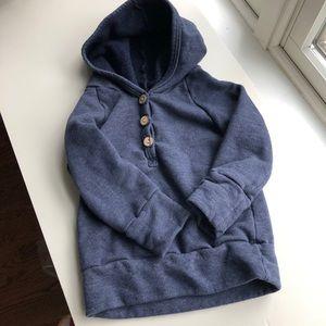 Childhoods Clothing Henley hoodie